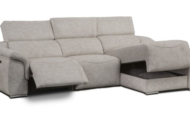 Chaiselongue con motor ref. Rap