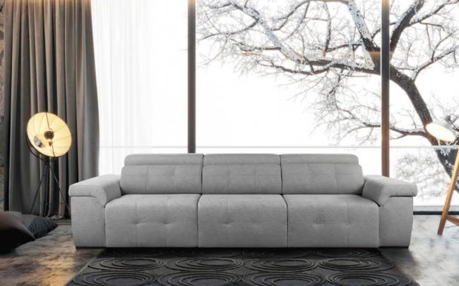 Sofá asientos deslizantes ref. Komic