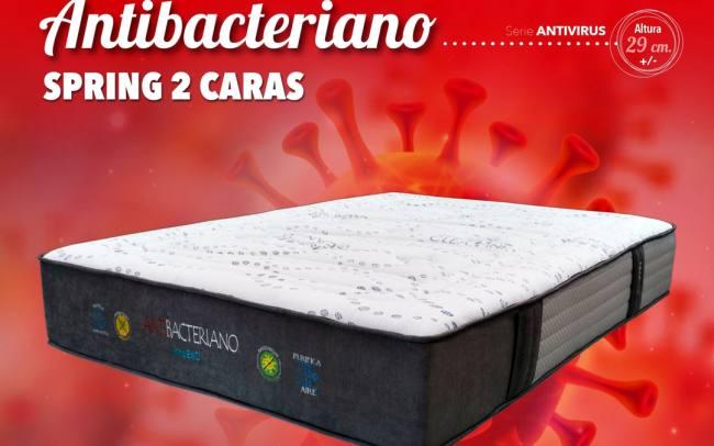 colchón antibacteriano y antivirus